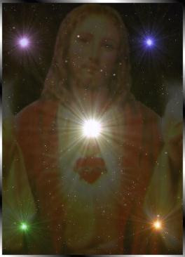 Light in the Sacred Heart of Jesus