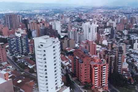 Bucaramanga, panoramic view