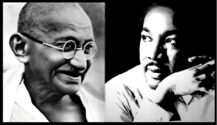 a comparison of mahatma gandhi and dr martin luther king Gandhi and fannon martin luther king jr  mahatma ghandi as a map to fight against injustice dr  comparison of mahatma gandhi and.