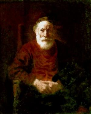 Viejo Judío por Rembrant